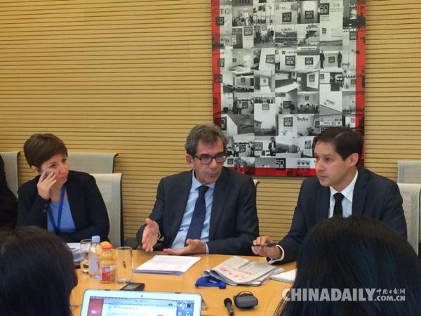 法国驻华大使:期待十九大助推法中、欧中合作