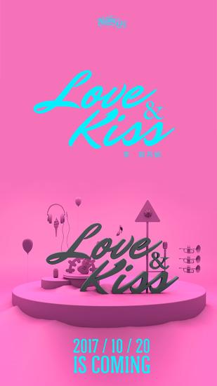 """李斯丹妮《Love&kiss》海报 """"轻柔"""" hippop"""