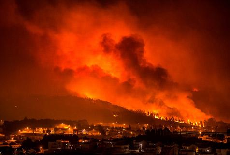 葡西山火肆虐伤亡惨重 如人间炼狱