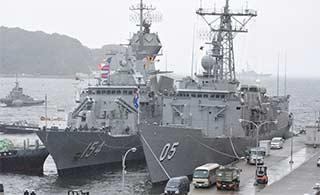 澳大利亚海空军同时访问日本