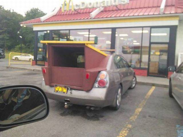 开这样的车出门也太酷炫了吧图片