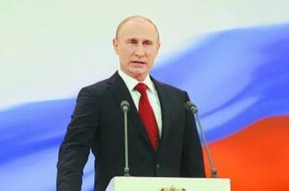 """俄高校学生自认""""普京一代"""" 称总统大选将支持普京"""