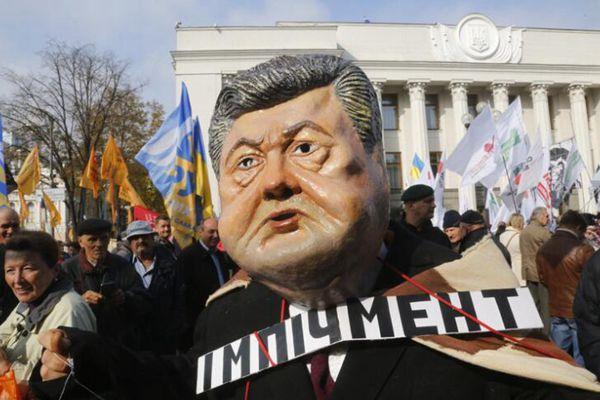 乌克兰民众在议会外大规模集会 要求进行政治改革