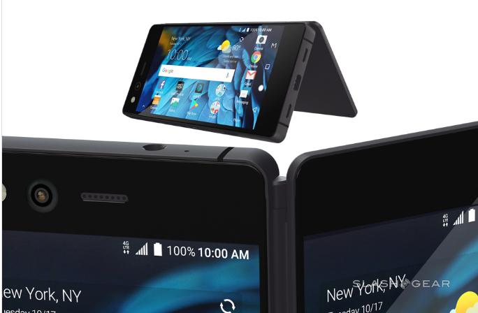 真的不是翻盖手机?中兴发布折叠手机AXON M