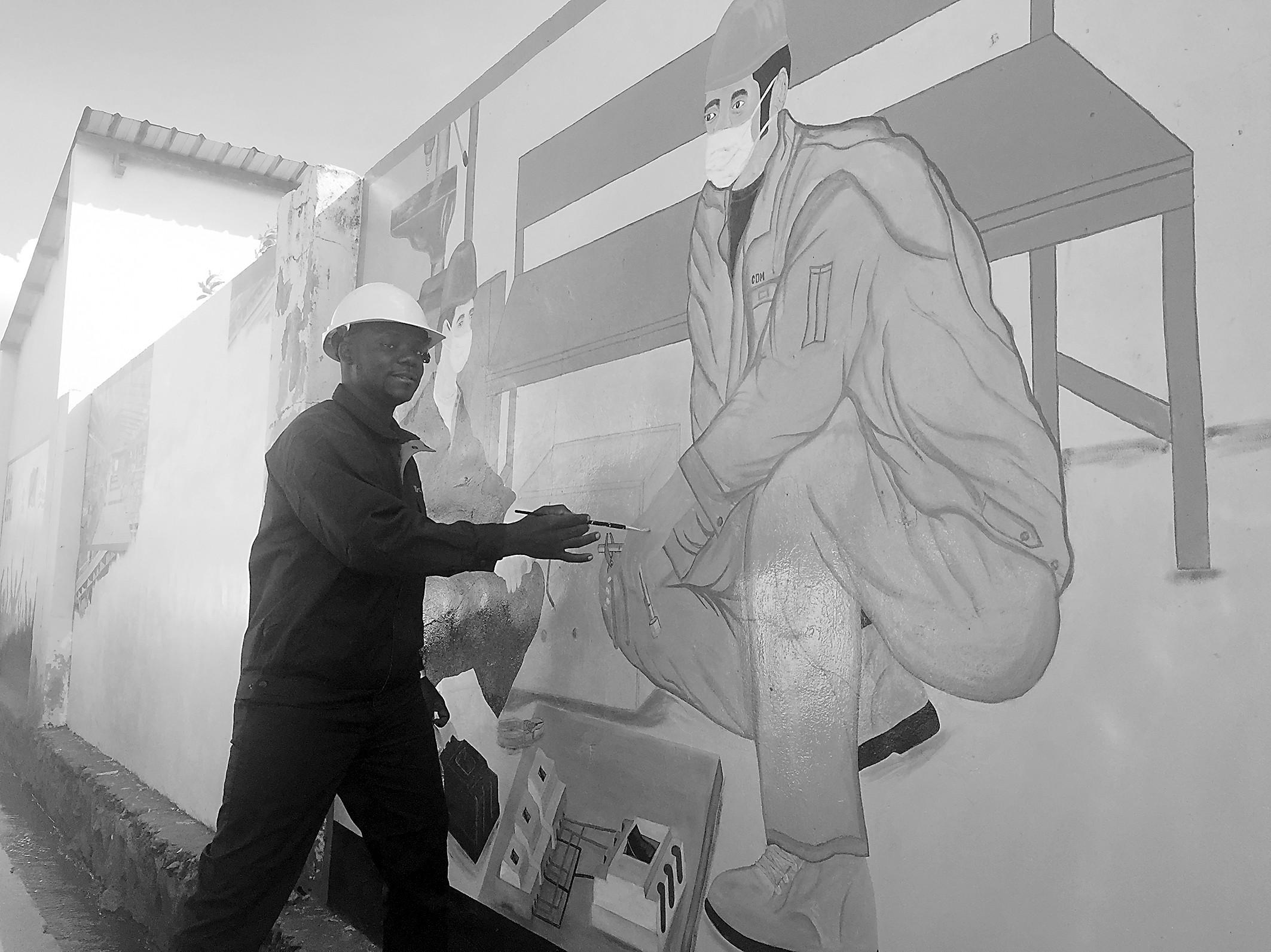 随心展示风土人情:在民主刚果 人人都可当画师