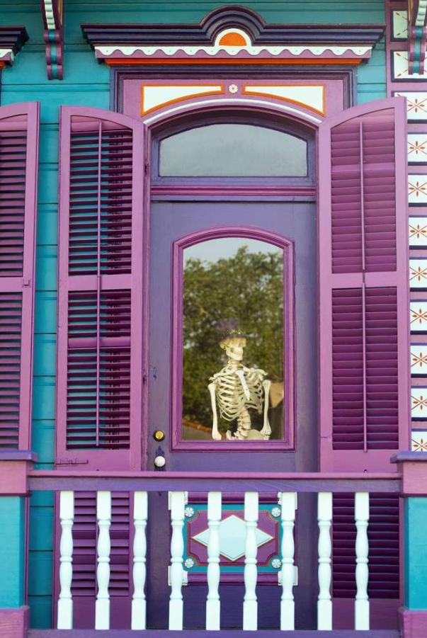 美国新奥尔良街头建筑多彩清新