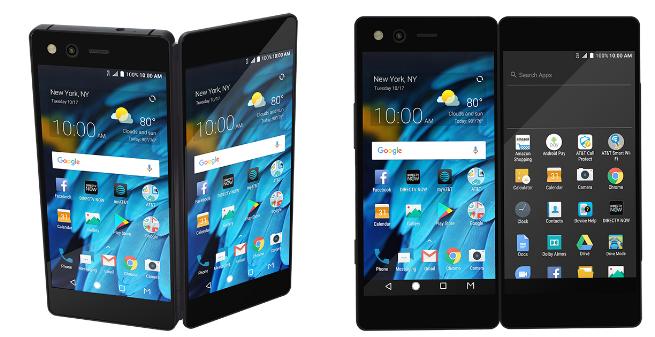中兴可折叠手机Axon M来了:双屏幕可折叠
