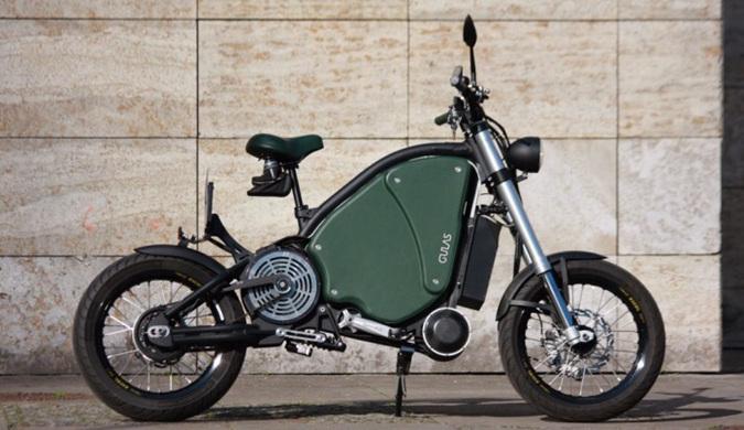德国厂商推最速纯电动摩托车 极速115公里/时