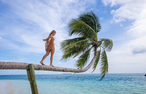 马尔代夫一酒店设专门团队为游客拍美照