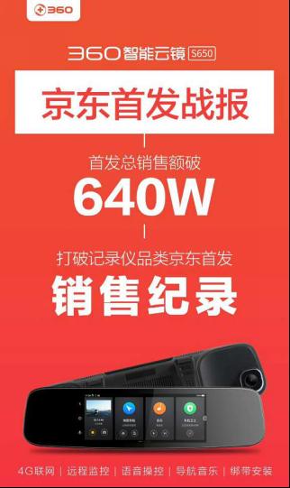 360智能云镜S650 以技术实力支撑用户体验