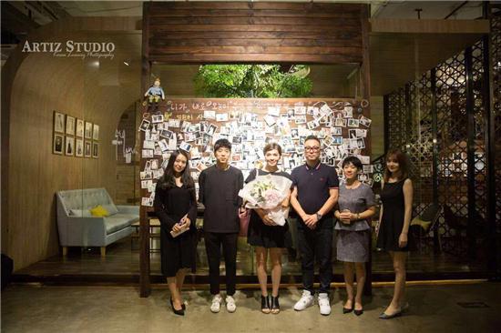 韩国艺匠Artiz Studio及格乐利雅高端婚礼堂与世界冠军相遇