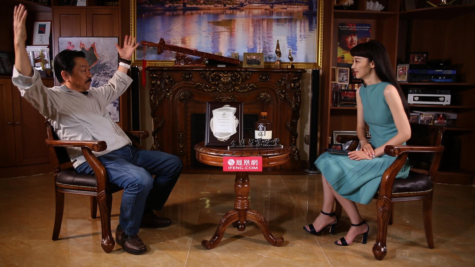 吴子牛做客《舍得智慧讲堂》:从银幕到荧屏,我的光影四十年