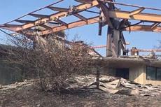 加州大火烧毁价值千万山顶豪宅