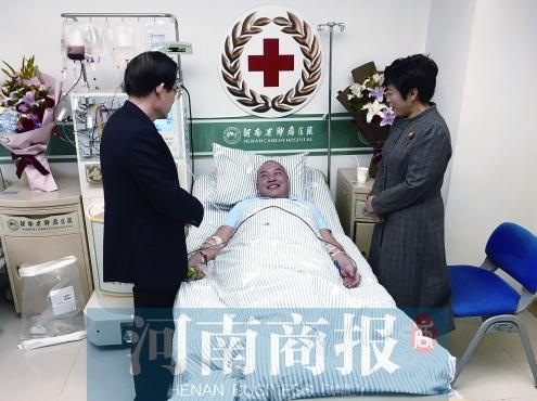 医生捐干细胞救患者