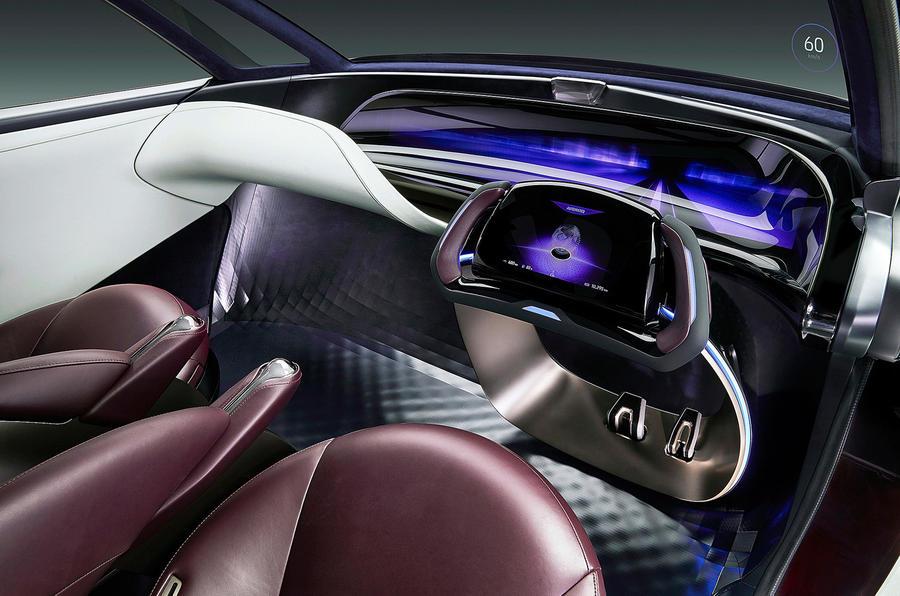 丰田公布豪华氢燃料电池概念车 剑指奔驰S级