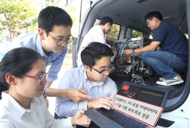 LG U+联合华为成功完成5G外场双连接技术验证