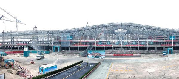 英媒:北京新机场揭开面纱 将成全球最大机场之一