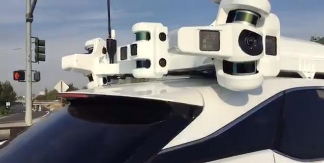 """苹果""""全副武装""""的自动驾驶雷克萨斯 SUV"""