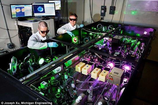 世界最强激光器将再升级 功率最高可提升两倍