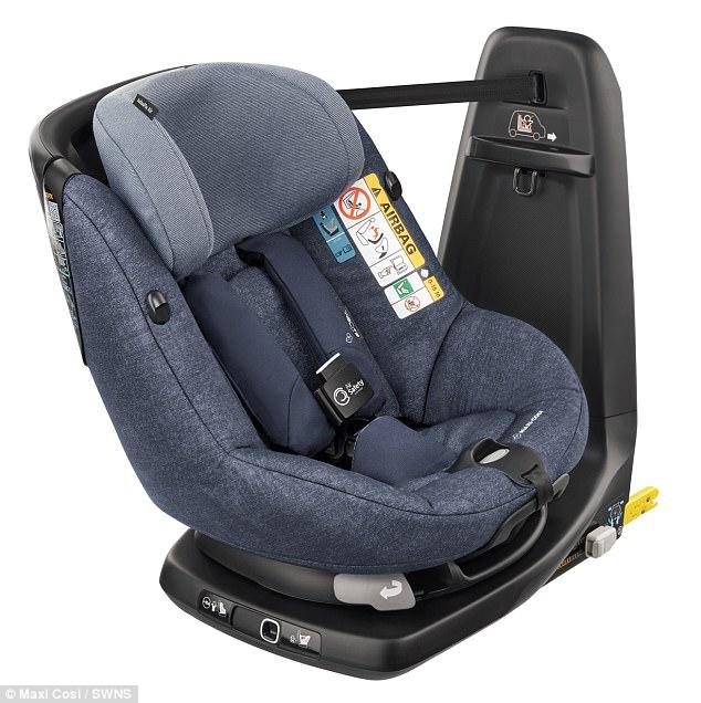 世界首款内置安全气囊儿童座椅发布 将全球上市