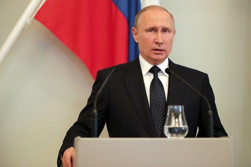 普京讲话痛批西方 呼吁不要把朝鲜逼到墙角