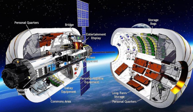 外国私企计划在月球轨道建立可膨胀空间站
