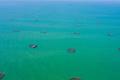 航拍海南临高:亚洲最大深水网箱养殖基地