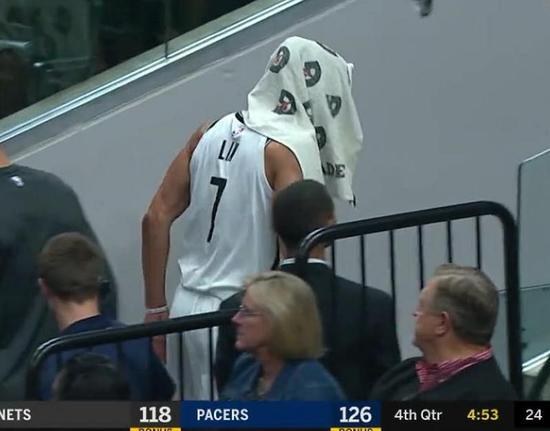 篮网宣布林书豪右膝髌韧带断裂 预计本赛季报销