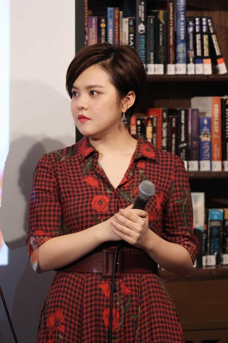 """刘思涵新专辑分享会  咖啡厅再响""""天使之音"""""""