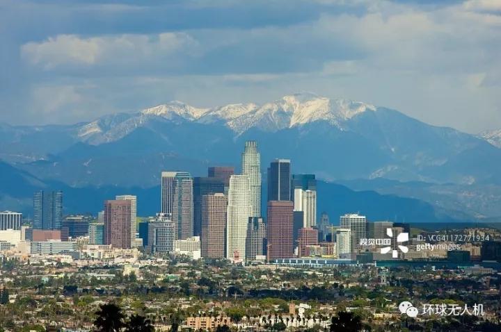 【一期一会一瞰一见】航拍第十二站:凌晨四点洛杉矶 是天使之城还是罪恶之都?