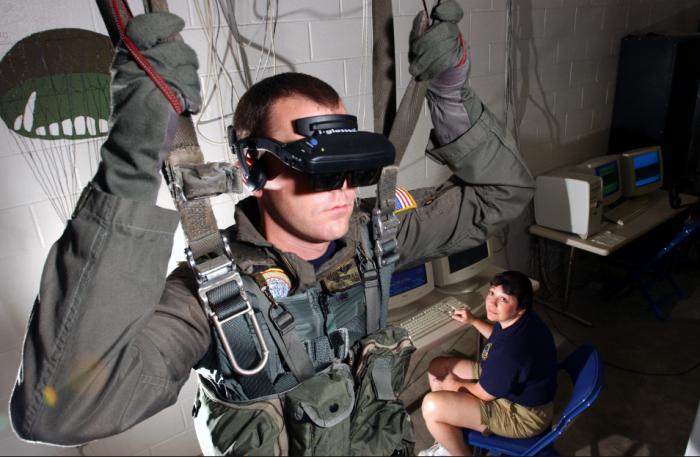 美军探索虚拟与混合现实技术 加强新兵训练