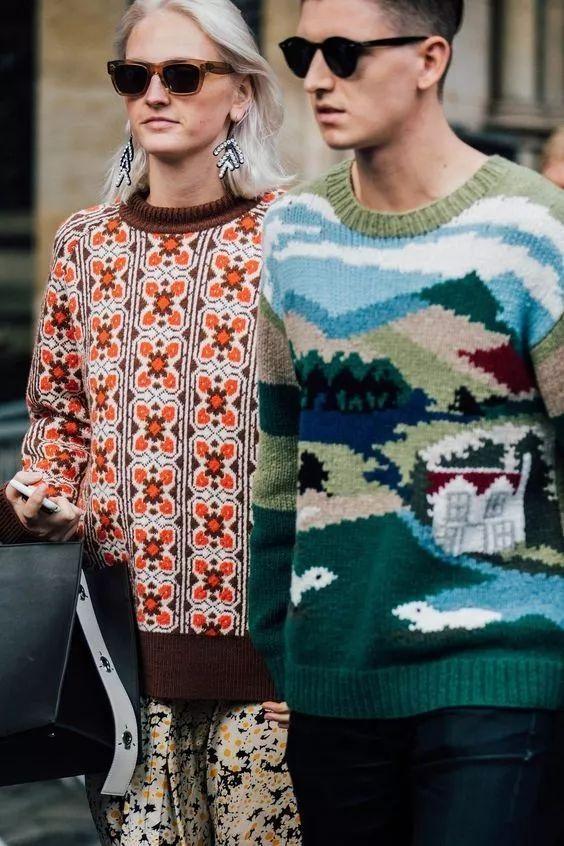 你的温暖牌毛衣已经上线,这样穿好时髦!