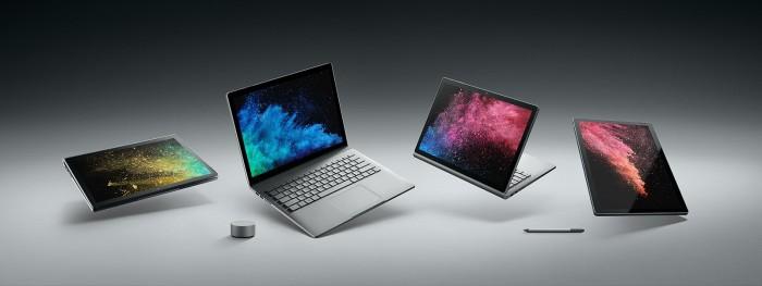 《消费者报告》并不推荐微软Surface Book 2
