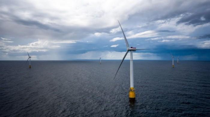 首座漂浮式海上风电场投产 可为2万户家庭供电