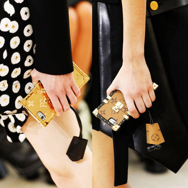 对时髦女人来说 手机壳远远比手机重要
