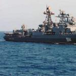俄罗斯三艘军舰停靠菲律宾 卸载5千枪支百万弹药..