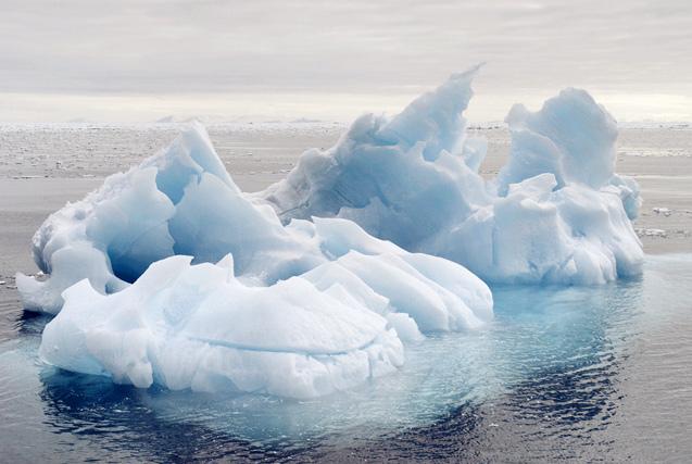 触摸北极边缘 斯匹茨卑尔根岛雪景风光