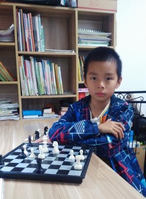 """南昌10岁男孩成为 国际象棋""""国家棋协大师"""""""