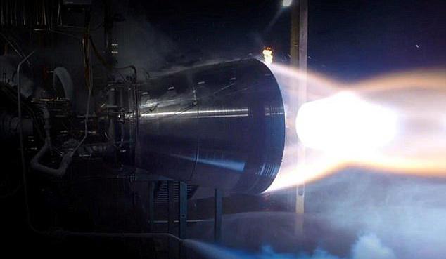 蓝色起源的全球运载能力最大的火箭点火试验成功