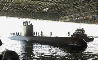 埃及建造中东最大潜艇基地