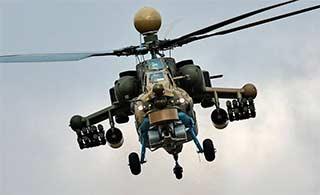 俄最新米28UB武直亮相装先进航电