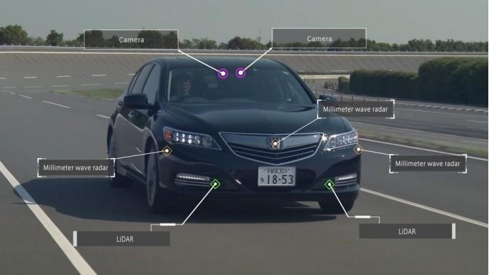 本田将推全自动驾驶车