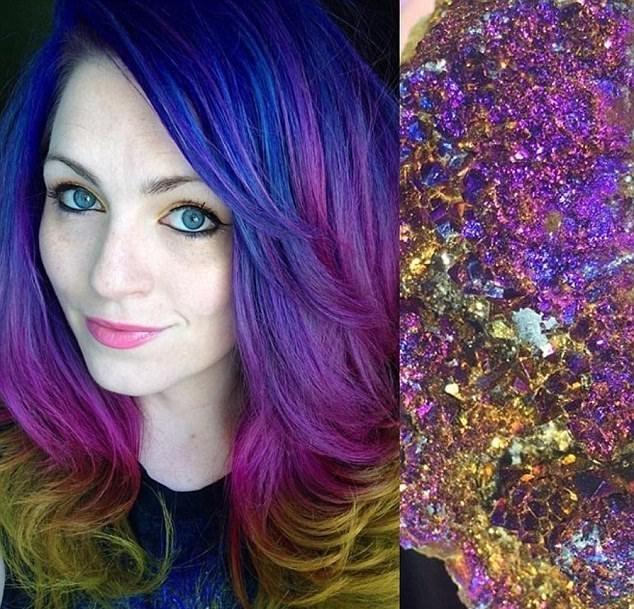 令人惊叹!美国造型师将头发染成彩色艺术品(组...