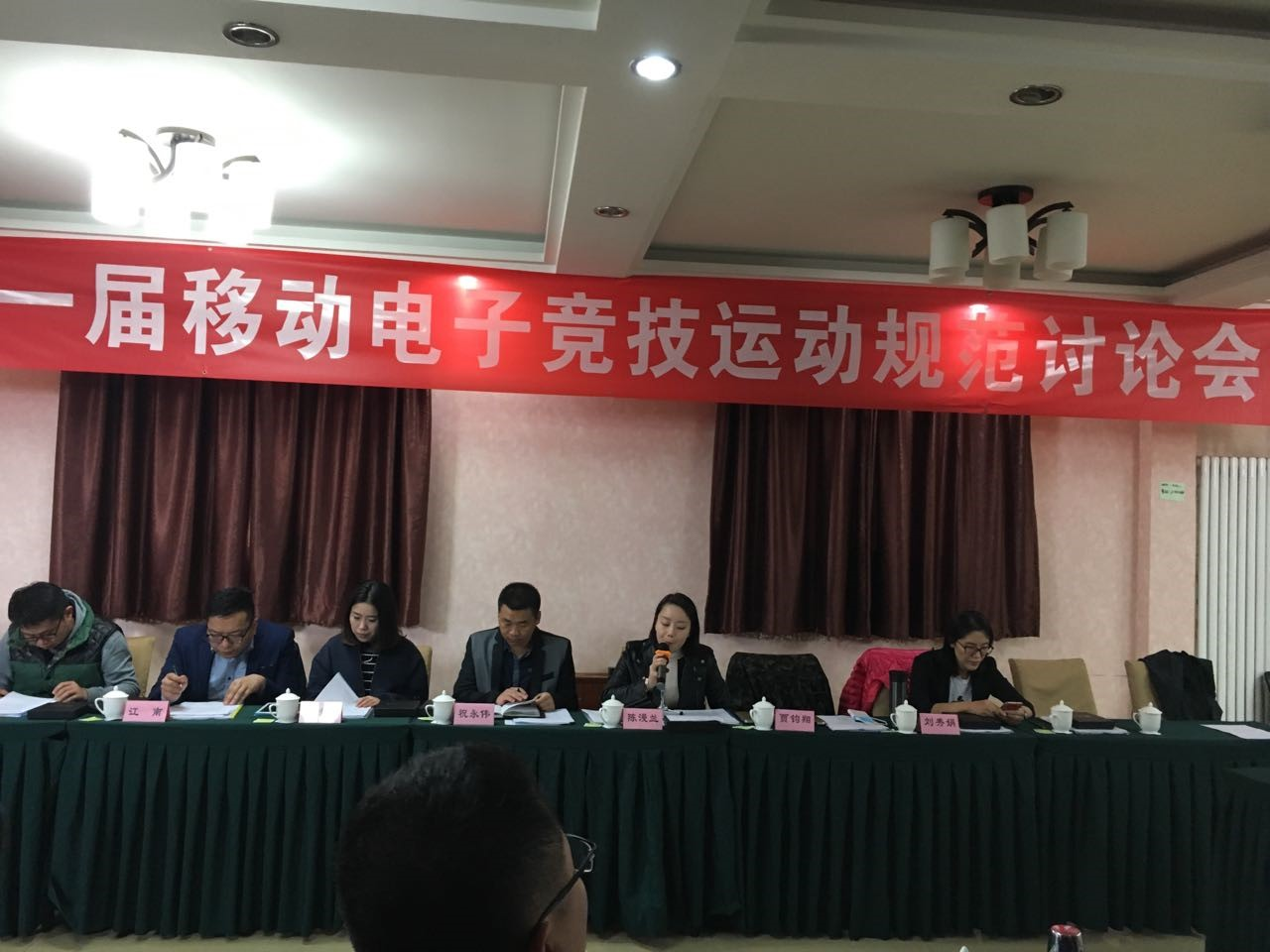 首届移动电子竞技运动规范讨论会在京召开