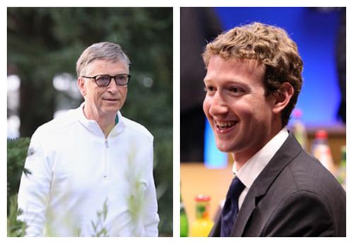 盖茨与扎克伯格相差近30岁 但他们老师是同一个
