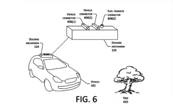 用无人机给电动车充电 细数飞天黑科技就服亚马逊