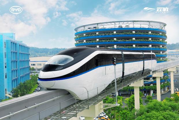 """比亚迪云轨出海!将打造非洲第一条""""空中地铁"""""""