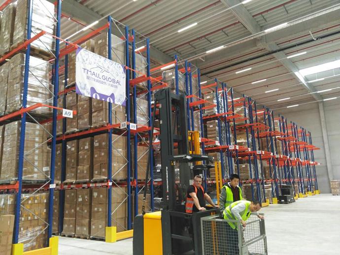 菜鸟启动最大规模包机送全球