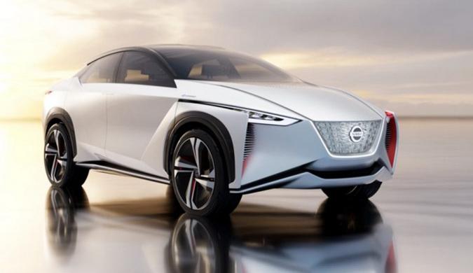 日产发布IMx自动驾驶概念EV
