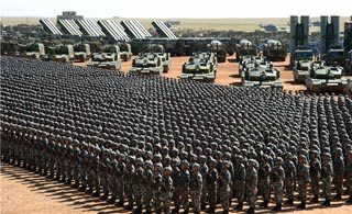 燃爆了!阅兵式最强混剪致敬中国军人